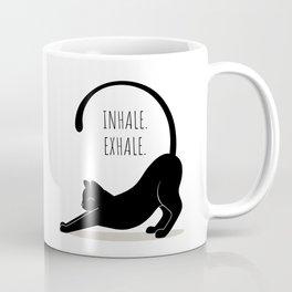 Inhale. Exhale Coffee Mug