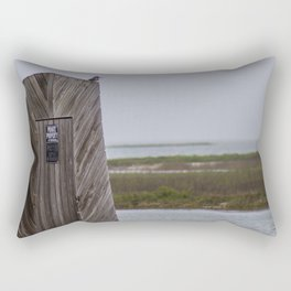 No Trespassing Rectangular Pillow