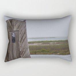 No Trespassing Rectangular Pillow