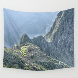 The Lost City of The Incas Wall Tapestry