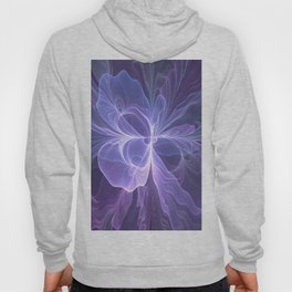 Abstract Art, Purple Fantasy Fractal Hoody