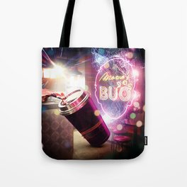 Neon Spill Tote Bag