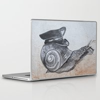 lee pace Laptop & iPad Skins featuring Snails Pace by emmpeez
