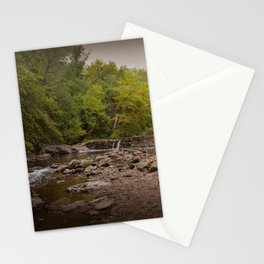 Stormy Waterfall Stationery Cards