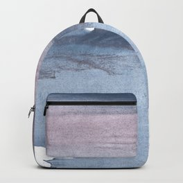 Dark gray colorful watercolor texture Backpack