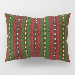 Laberinto Navideño Pillow Sham