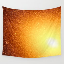 Copper Stars Ombre Wall Tapestry