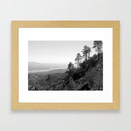 Roosevelt Lake Framed Art Print