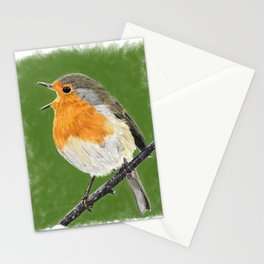 Robin 02 Stationery Cards