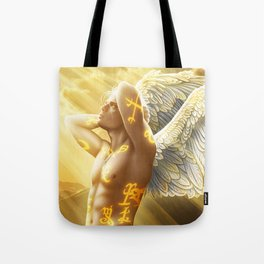 angel boy Tote Bag