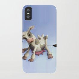 Little cow iPhone Case