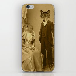 Mr. Wolfe iPhone Skin