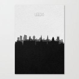 City Skylines: Leeds Canvas Print