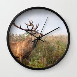 Rutting - Richmond Park Wall Clock