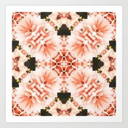Blush Mandala #pattern #mandala Art Print