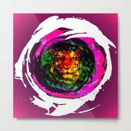tiger spirit Metal Print