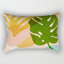 Abstraction_Floral_02 Rectangular Pillow