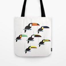The toucans Tote Bag