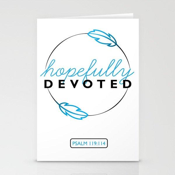 Hopefully Devoted Stationery Cards