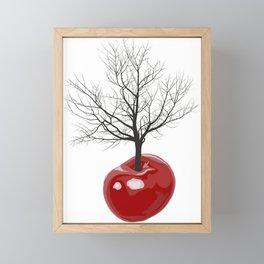 Cherry tree of cherries Framed Mini Art Print