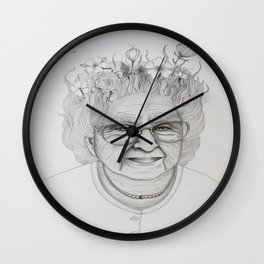 The Old Woman Wall Clock