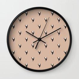 SIMPLE LITTLE FLOWER Wall Clock
