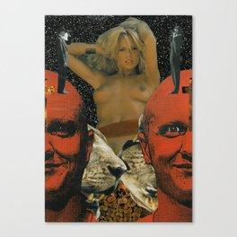 'un.tit.led' Canvas Print