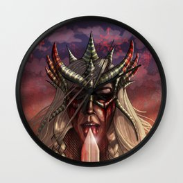 Valkyrie Wall Clock