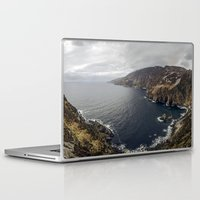 league Laptop & iPad Skins featuring Slieve League by cmphotography