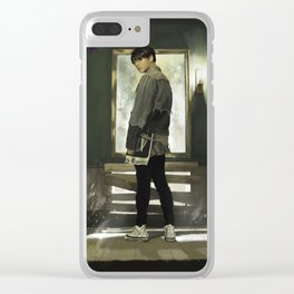 Sick of this Fake Love Clear iPhone Case