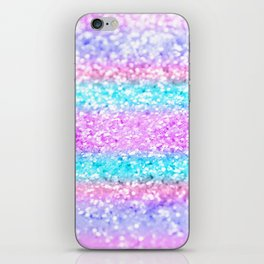 Unicorn Girls Glitter #15 #shiny #decor #art #society6 iPhone Skin