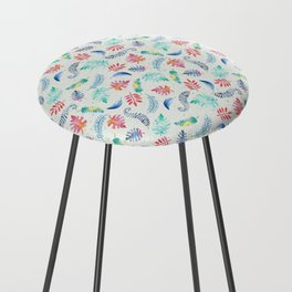 Aloha – Hawaii inspired pattern with a vintage feel Counter Stool