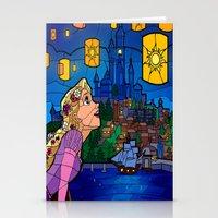 lanterns Stationery Cards featuring LANTERNS by Chris Thompson, ThompsonArts.com