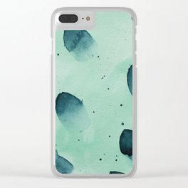 Boats Floating Along Clear iPhone Case