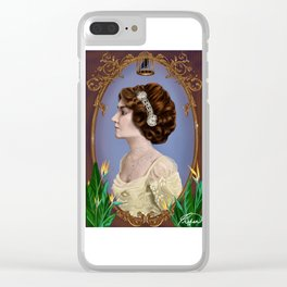 Birdcage Clear iPhone Case