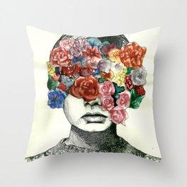 Twig & Flora Throw Pillow