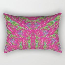 Infinities of Love in Abstract Pink Rectangular Pillow