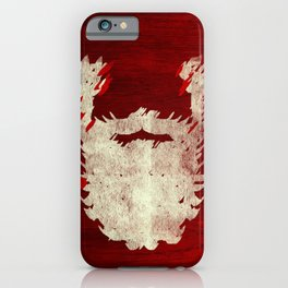 Santa Beard 1 iPhone Case