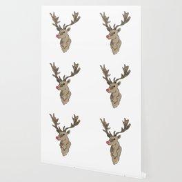 rudolf the rednosed reindeer Wallpaper