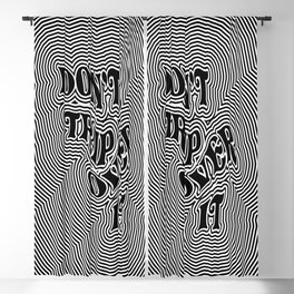 Don't Trip Over It Blackout Curtain