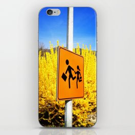 time of spring iPhone Skin