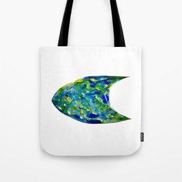 Fish Watercolor II Tote Bag