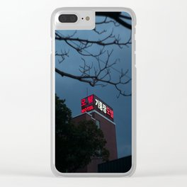 Motel Clear iPhone Case