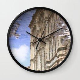 narcissistic duomo Wall Clock