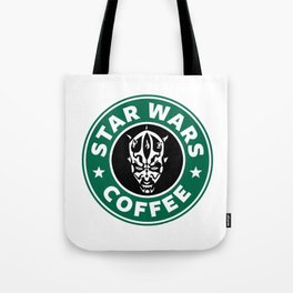 Star Wars Coffee (Darth Maul) Tote Bag