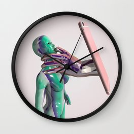 Pacify Her Wall Clock