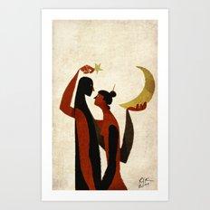 celestial bodies Art Print