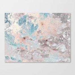 Pastel marble texture Canvas Print