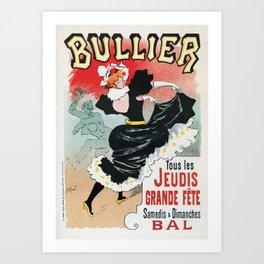 Bullier French dance hall days Art Print