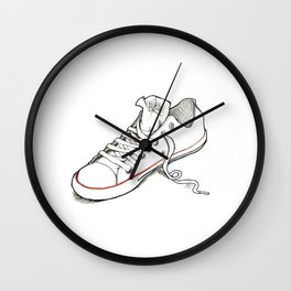 Lonely Chuck Wall Clock